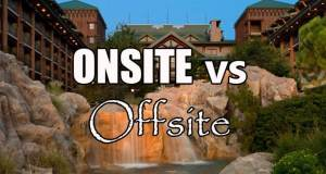 Should you stay onsite or offsite at Walt Disney World?