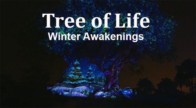 Disney parks reveals teaser for the Tree of Life Winter Awakenings