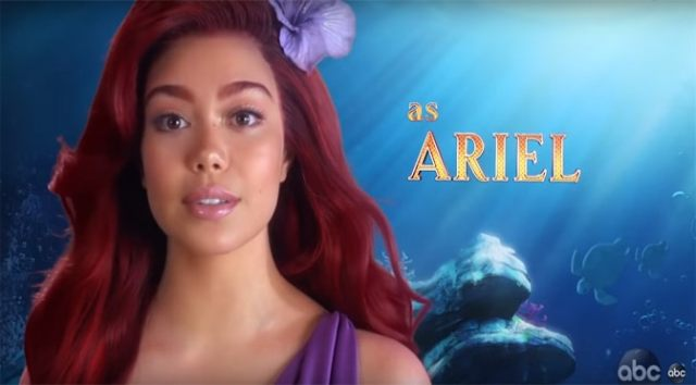 """The Little Mermaid Live"" Cast and Promo Video"