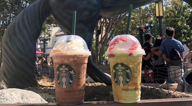 A Review on The Jack Skellington, Sally and Maleficent Starbucks Frappuccino and More Yummy Disneyland Halloween Treats