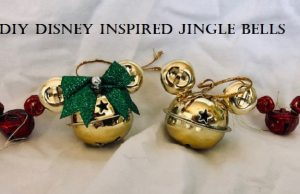 DIYsney: How to Make Mickey Inspired Jingle Bells