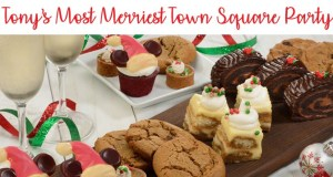 Tony's Most Merriest Town Square Party Overview