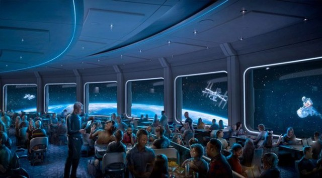 Enter for a Chance to Win a Trip to Disney and Dine at Space 220 Restaurant!