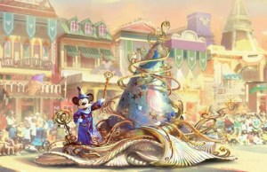 """News: Get a First Look at Mickey in the New """"Magic Happens"""" Parade"""