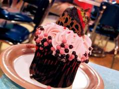 Valentine's Cupcake at Animal Kingdom is like a Great First Date!