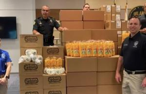 Disney Spreads Some Magic With Large Snack Donation To Orlando Police Department
