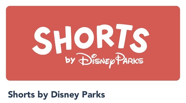 New Shorts by Disney Parks Feature on MDE