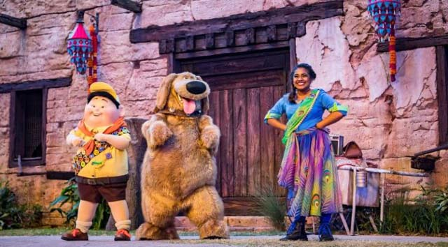 UP! A Great Bird Adventure Show will Reopen, Plus Where to Find No-Mask Seating Areas at Animal Kingdom