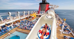 Ride and Learn Aboard the Disney Cruise Line Aqua Duck
