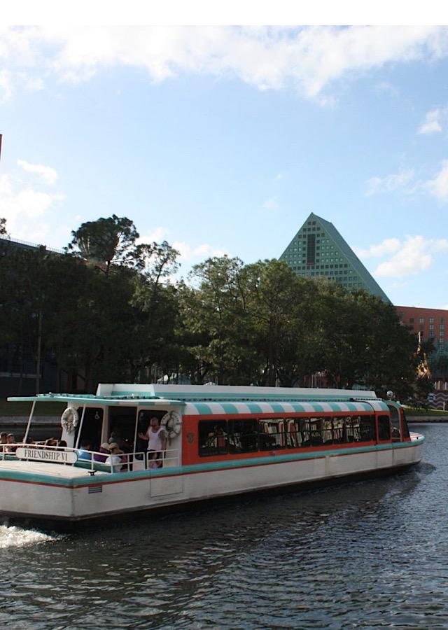Disney's friendship boats