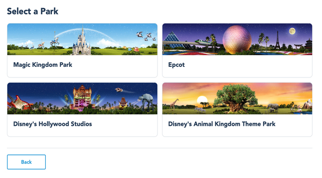 New Feature in My Disney Experience Could Make it Easier to Reserve Park Passes