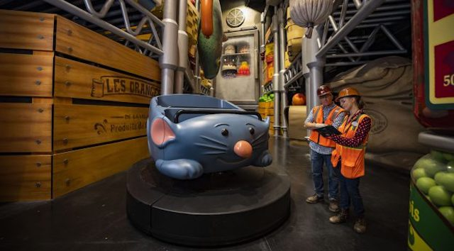 New Update for Remy's Ratatouille Attraction Opening