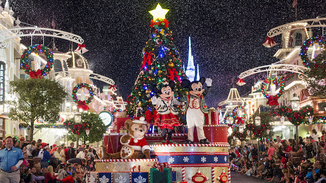 Find Out the Titles of the New Christmas Cavalcades at Magic Kingdom