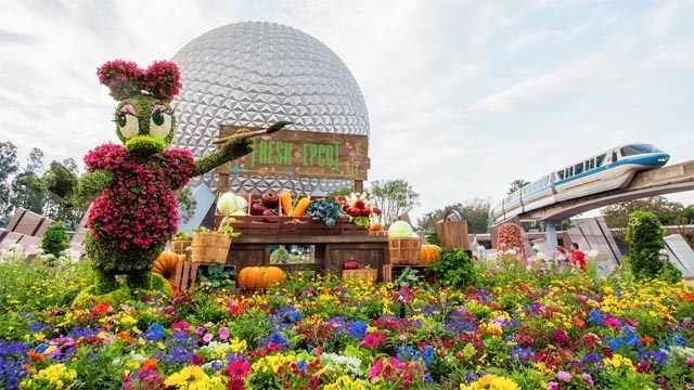 Check Out the New Dates for EPCOT's International Flower and Garden Festival