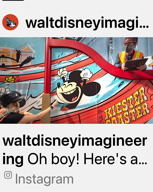 Disney Releases Image of New Boardwalk Slide