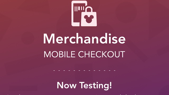 New: Mobile Checkout has Arrived at Disney Parks!