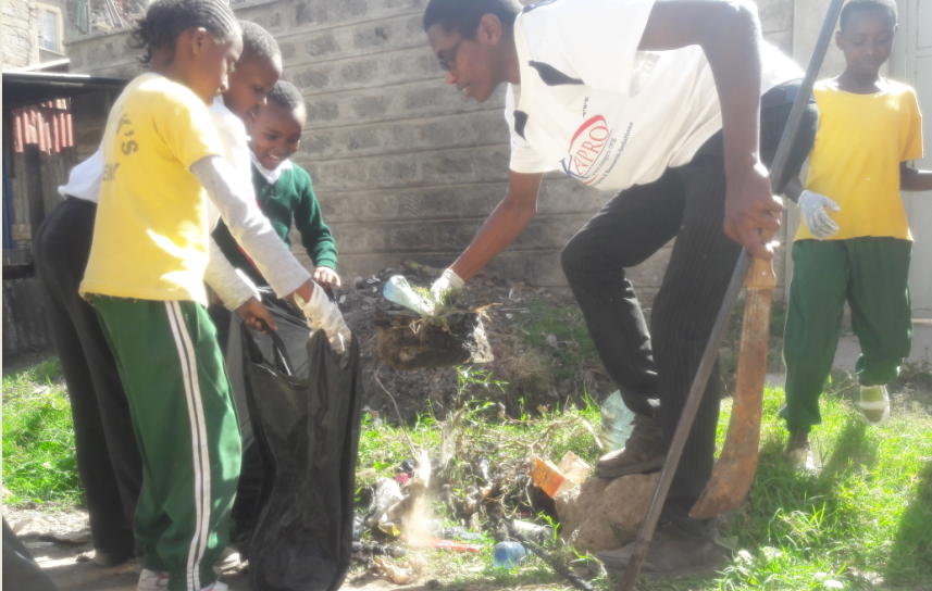 School Environmental Health Program, with St. Marks Academy, 2017