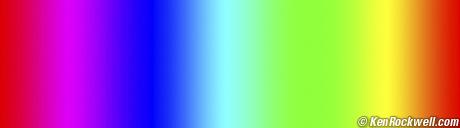 Adobe RGB Gradiant