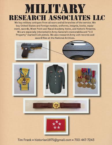 Wanted: Military Antiques - Buy, Sell or Trade, Military Antiques Washington, DC