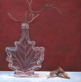 Title: Still life Medium: Oil Date: March 2, 2020 Dimensions: 6 inches x 6 inches
