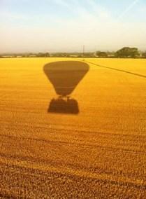 Kent Ballooning | Yellow shadows