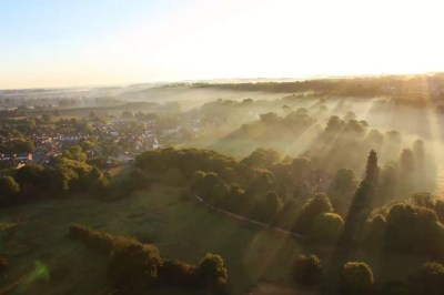 Kent Ballooning | Fingers of mist