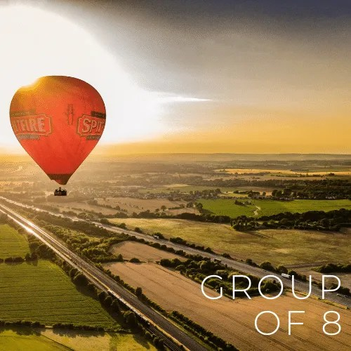 Kent Ballooning | Group of 8 Voucher