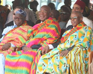 Kente-for-three-presidents-300x239 How to Wear Kente Cloth