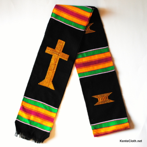 Church Choir & Clergy Kente Stoles
