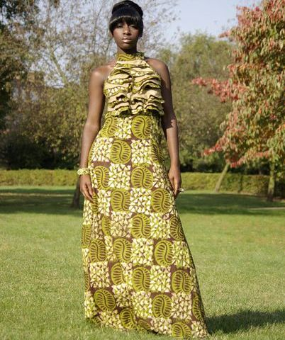 african-wax-print-dress African Art