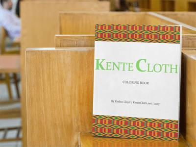 Kente Cloth Printable Coloring Book