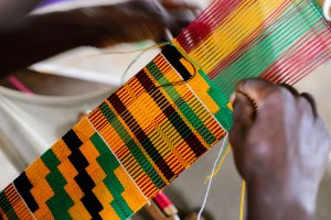 002-300x200 Kente Cloth - Introduction