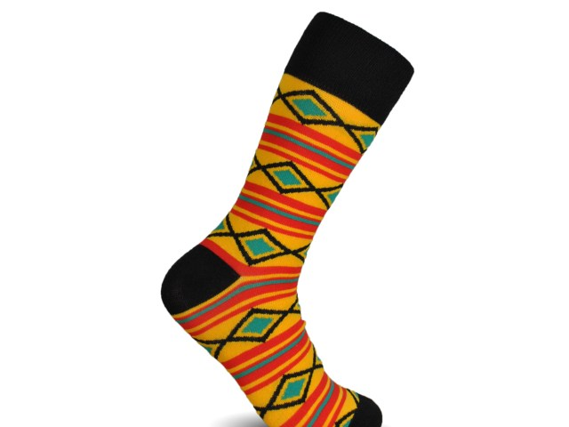 original_253d967c4524290d2a432b5abeada69a-640x480 Kente Cloth Socks for Dress and Casual Novelty