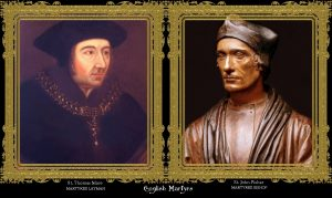 HH. Thomas More en John Fisher