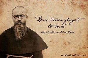 H. Maximiliaan Kolbe groot