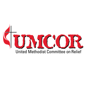 UMCOR logo, hurricane harvey