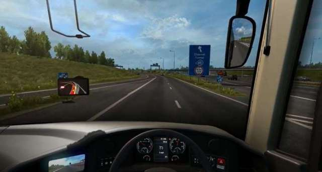 Look, it's just like coming off the real M20 on Euro Truck Simulator 2