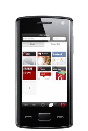 Opera Mini Mobile Symbians Java dan Ponsel Pintar Lainnya