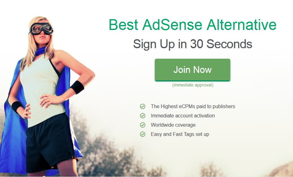 best google adsense alternatif terbaik blog banned