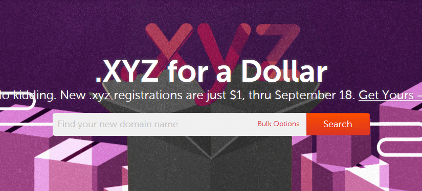 Promo Domain Baru .XYZ di NameCheap Sampai 18 September