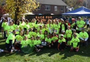 Join Team Race for Aydan at the 40th Annual Kent Pumpkin Run