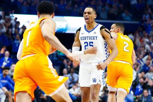 Kentucky Wildcats Vs Tennessee Volunteers College Basketball 2019 এর ছবির ফলাফল
