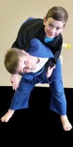 Kids Judo throw