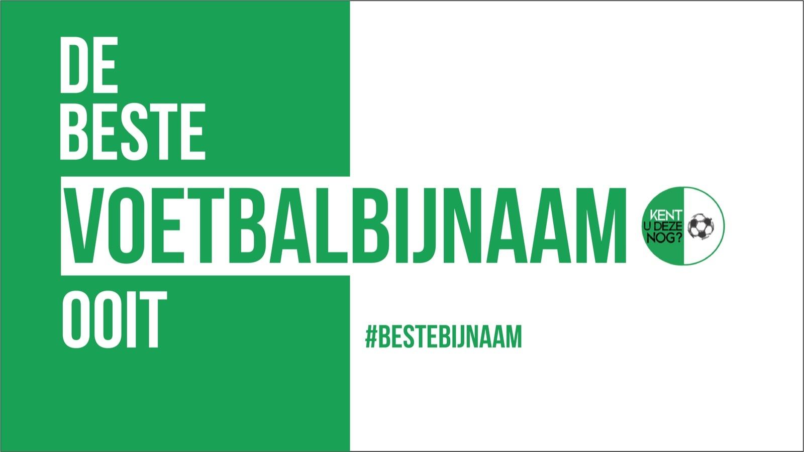 Verkiezing #BesteBijnaam