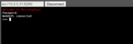 WebREPL connection