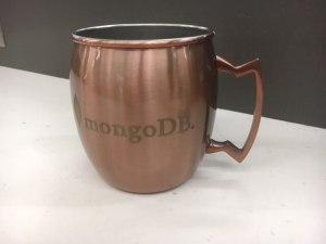 MongoDB Moscow Mule Mug