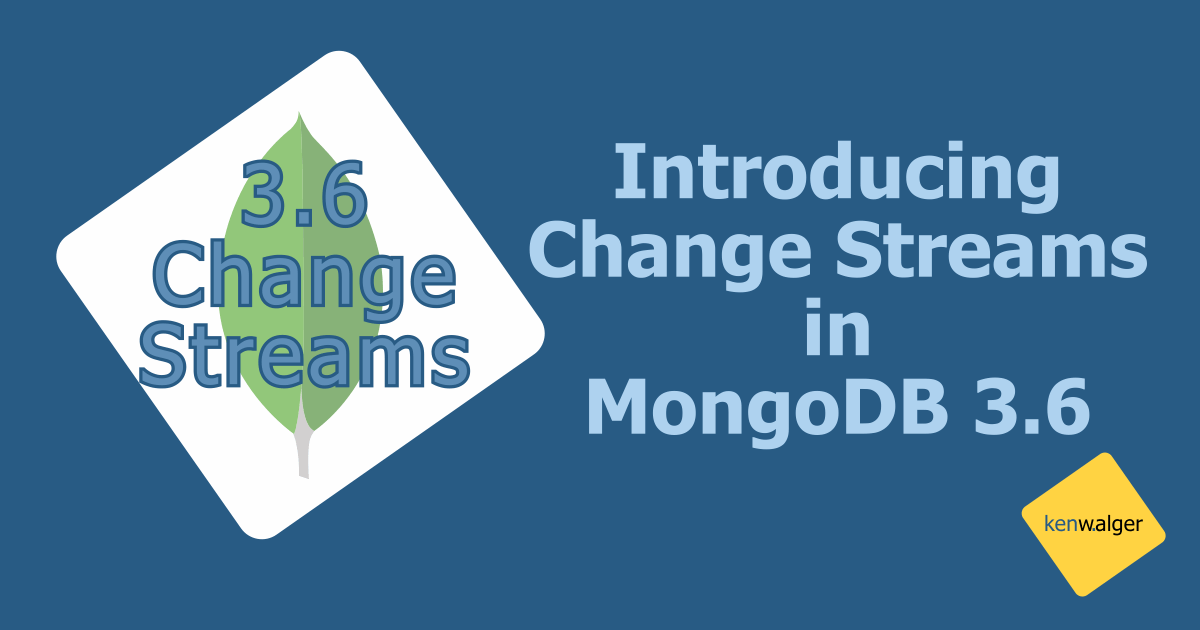 mongodb change streams