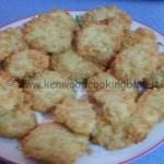 Ricetta biscotti al riso soffiato con Kenwood