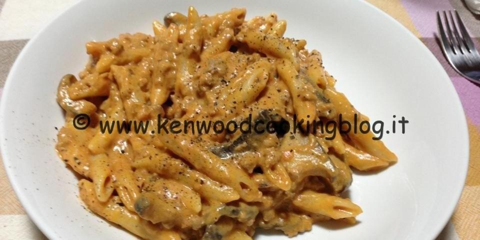 Ricetta Pasta risottata penne alla boscaiola Kenwood – Kenwood ...