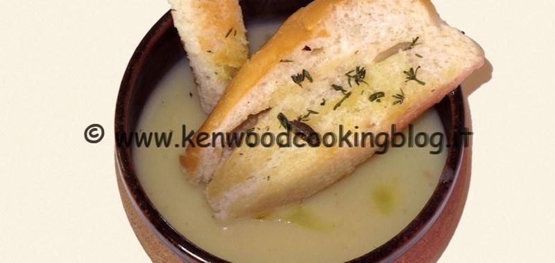 Ricetta vellutata di patate e porri Kenwood